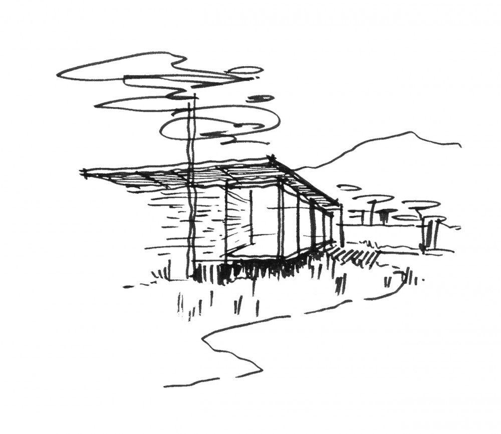 Botanica sales office showrooms vin varavarn architects plans architektur skizzenbuch - Architektur skizzen zeichnen ...