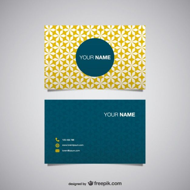Free business card vector free vector buisness cards design free business card vector free vector reheart Images