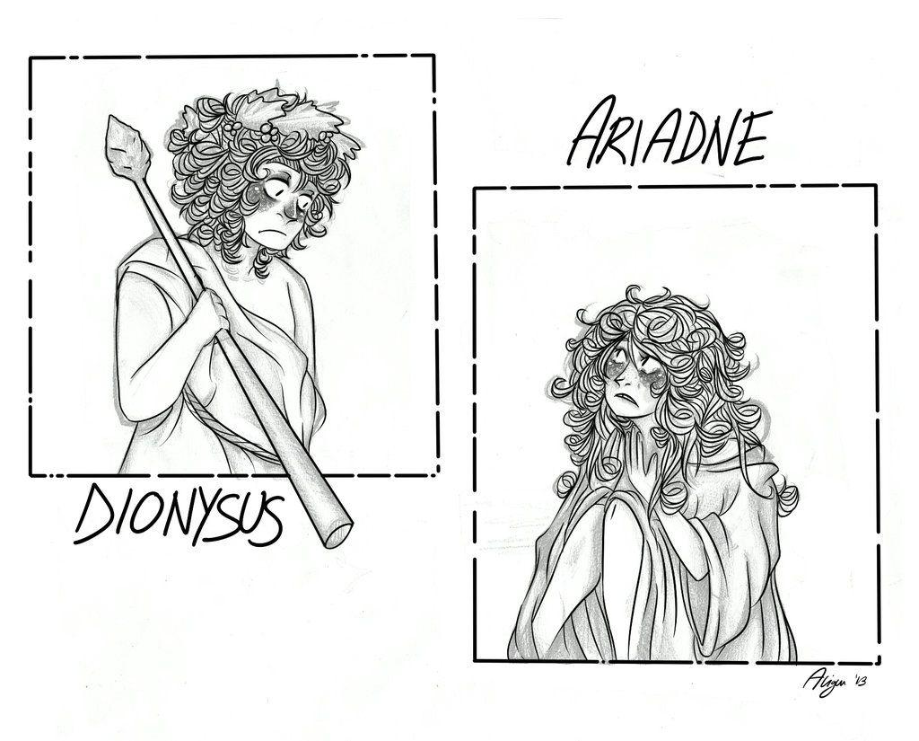 Dionysus And Ariadne Mythology Pinterest Dionysus And Mythology