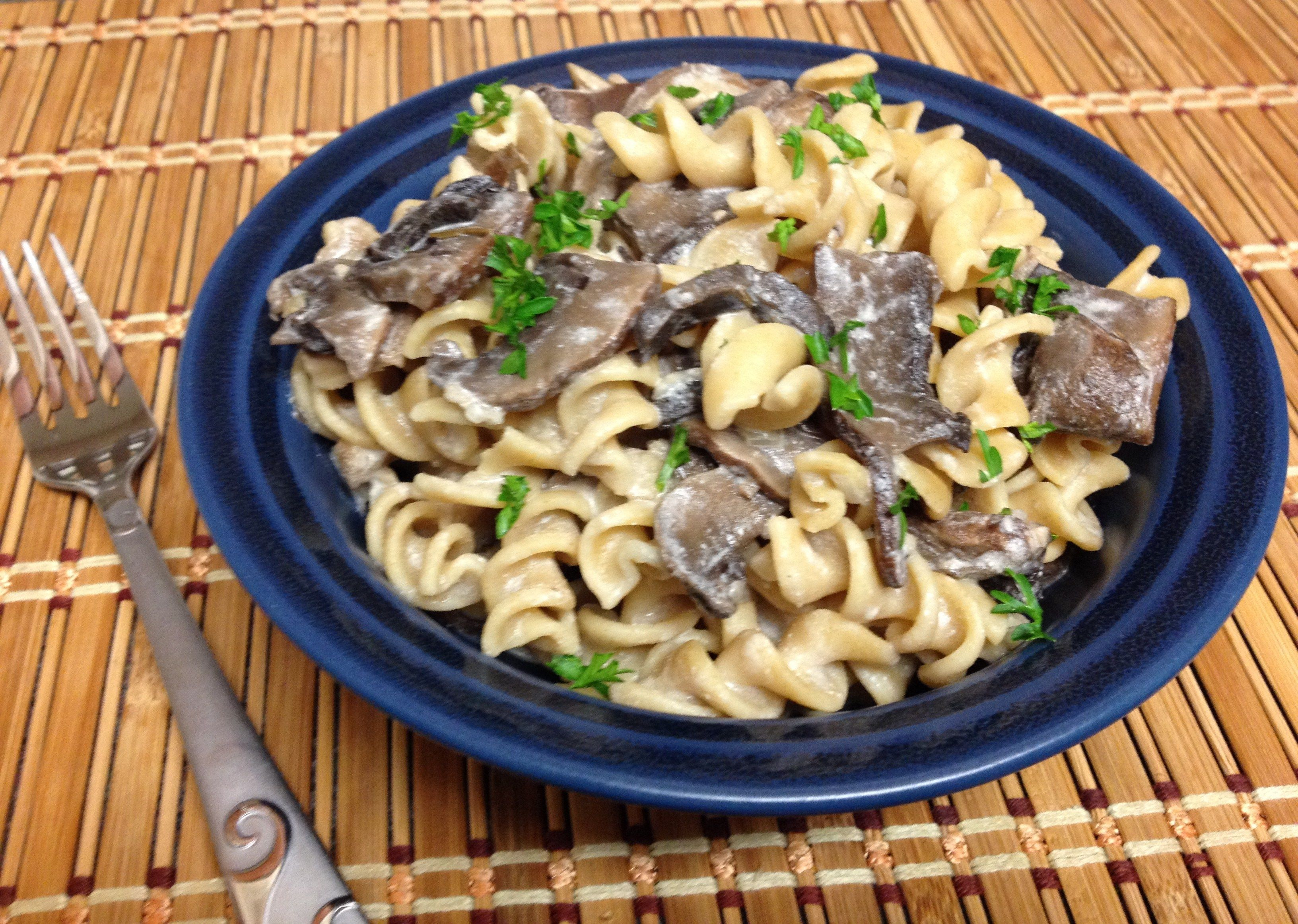 Forks Over Knives Cookbook Project Mushroom Stroganoff