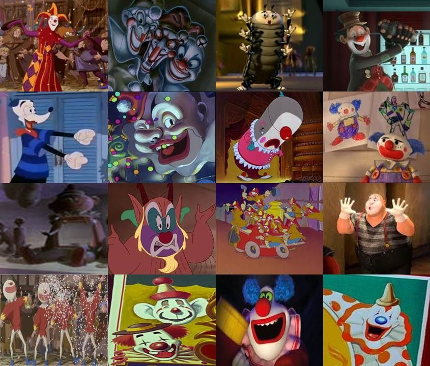 Disney Clowns And Mimes In Movies By Dramamasks22 On Deviantart Disney
