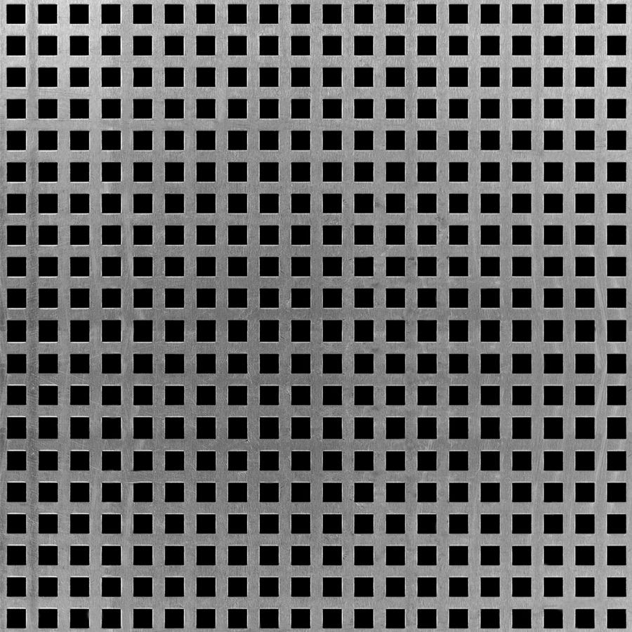 Square Perforated Carbon Steel 16961218 Mcnichols In 2020 Perforated Metal Perforated Metal