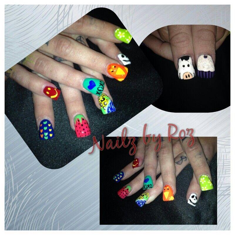 Nailzbyroz fun and wacky nail art nail art pinterest arte nailzbyroz fun and wacky nail art prinsesfo Image collections