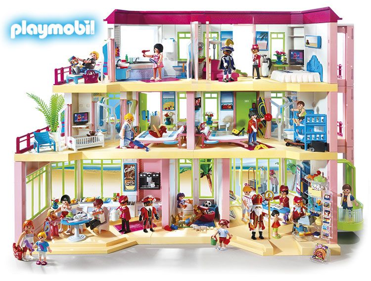 het hotel playmobil pinterest playmobil and miniatures. Black Bedroom Furniture Sets. Home Design Ideas