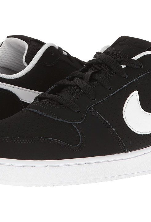Nike Court Borough (Black/White) Men's Basketball Shoes - Nike, Court  Borough