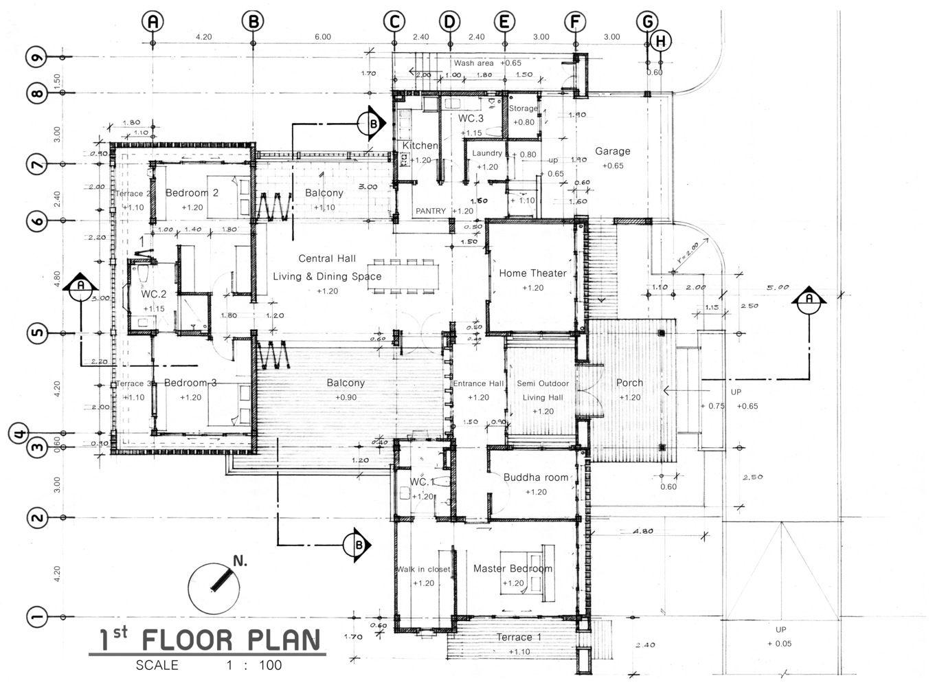 Gallery Of Lean House Teerachai Leesuraplanon 15 Floor Plans House Floor Plans How To Plan