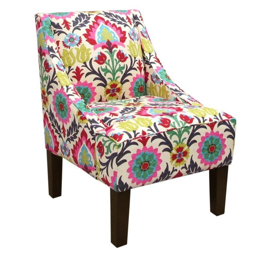 Chair fabric upholstered chairs occasional