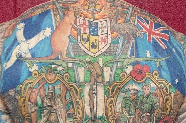 27 Australian Tattoos That Are So Patriotic It Hurts