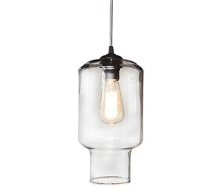 L mpara de techo babel transparente leroy merlin iluminaci n jar lamp ceiling lights y - Lamparas leroy merlin ...