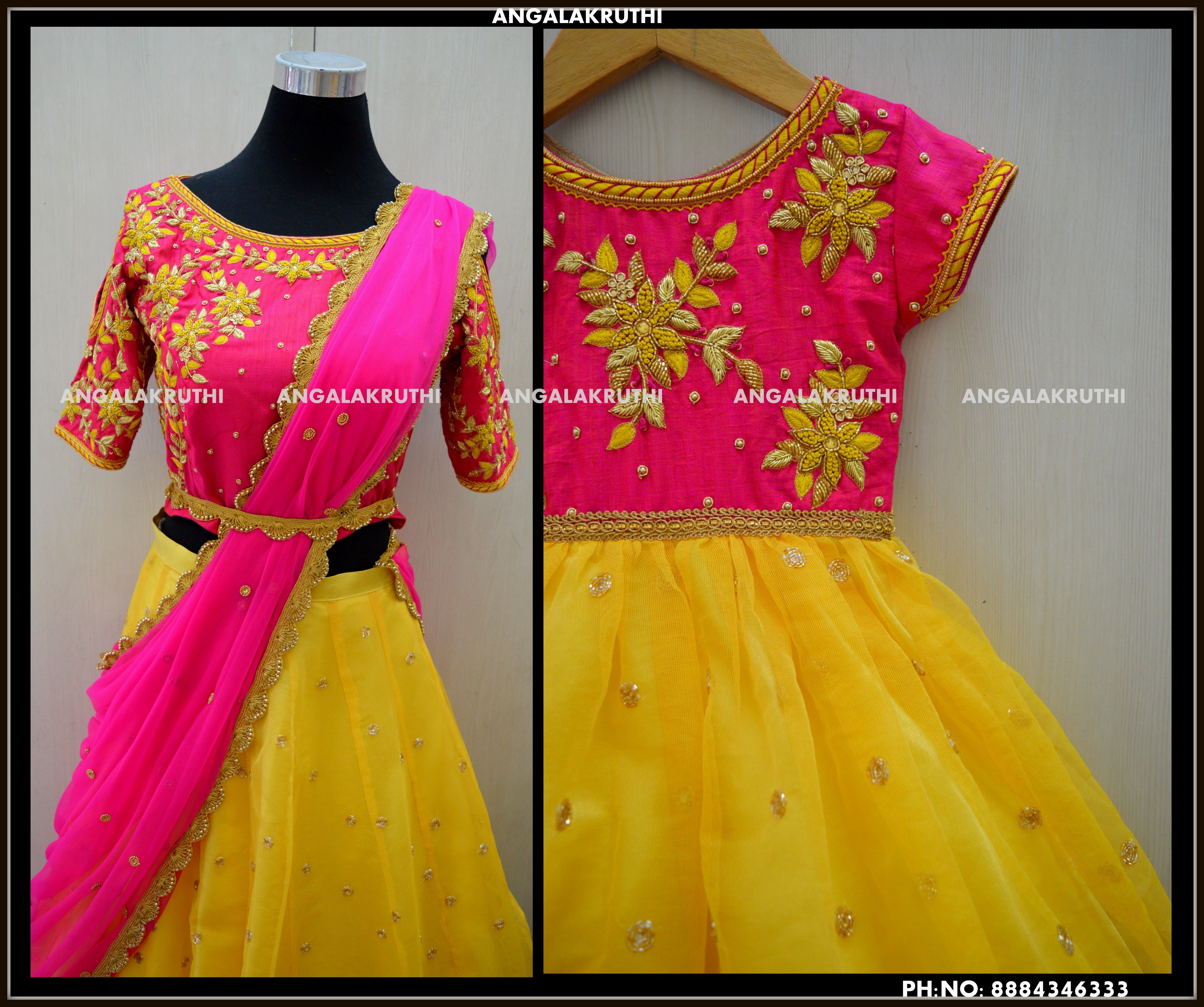 756589dee1 Matching dress designs by Angalakruthi bangalore | Mom n Me Designs ...