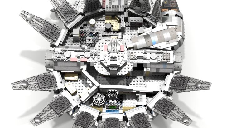Millennium Falcon Moc 7965 75105 Dario S Mod Rebuild Post Millennium Falcon Lego Lego Falcon Millennium Falcon