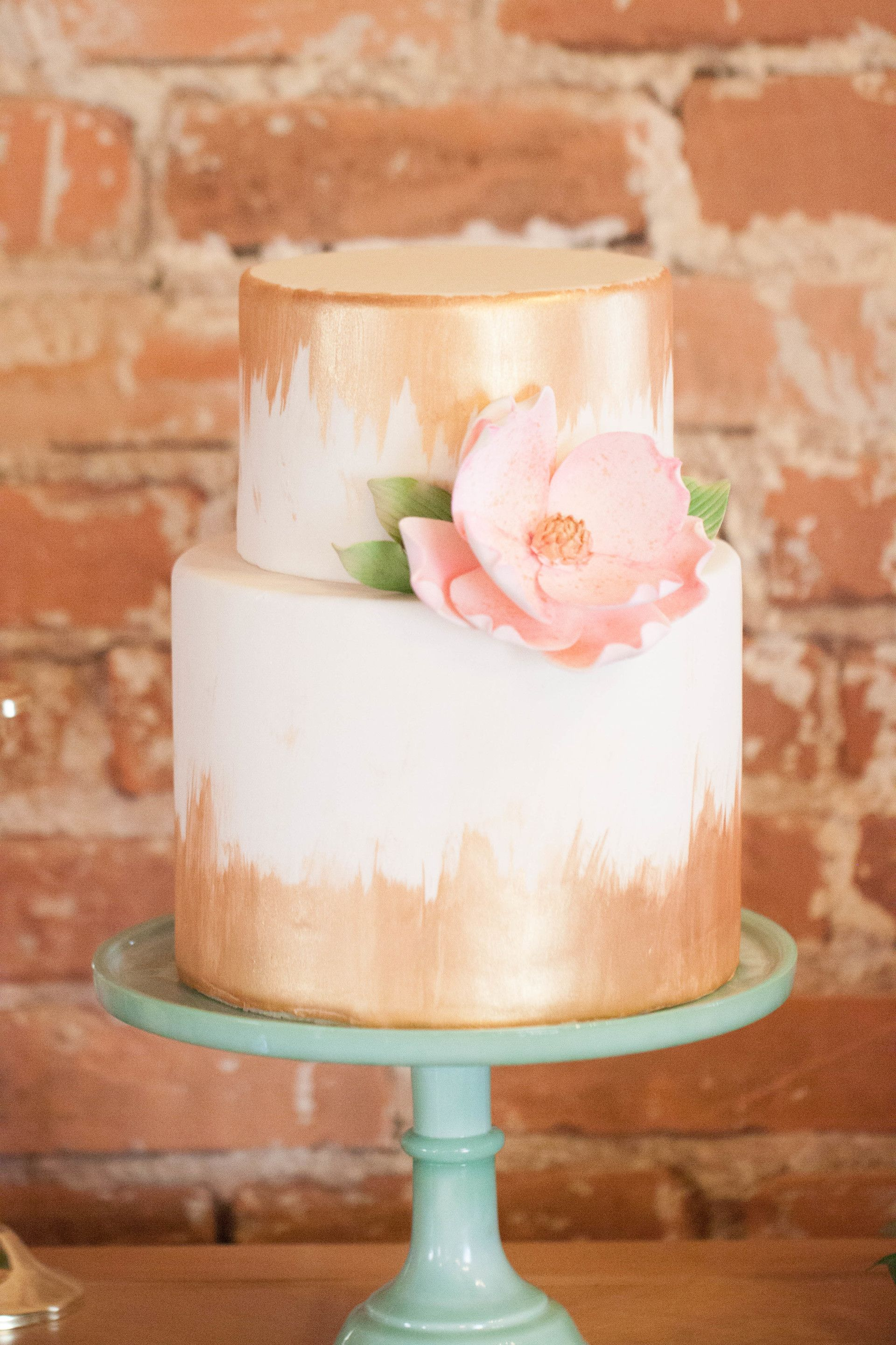 The Smarter Way To Wed Pinterest Wedding Cake Pink Gold Cake
