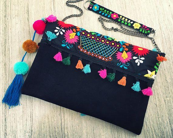 Hermosa bolsa hecha a mano 85dd9eb51e86