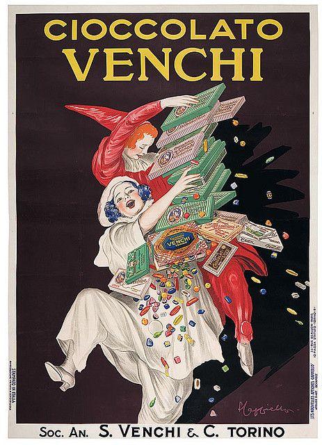 Vintage Advertising Venchi