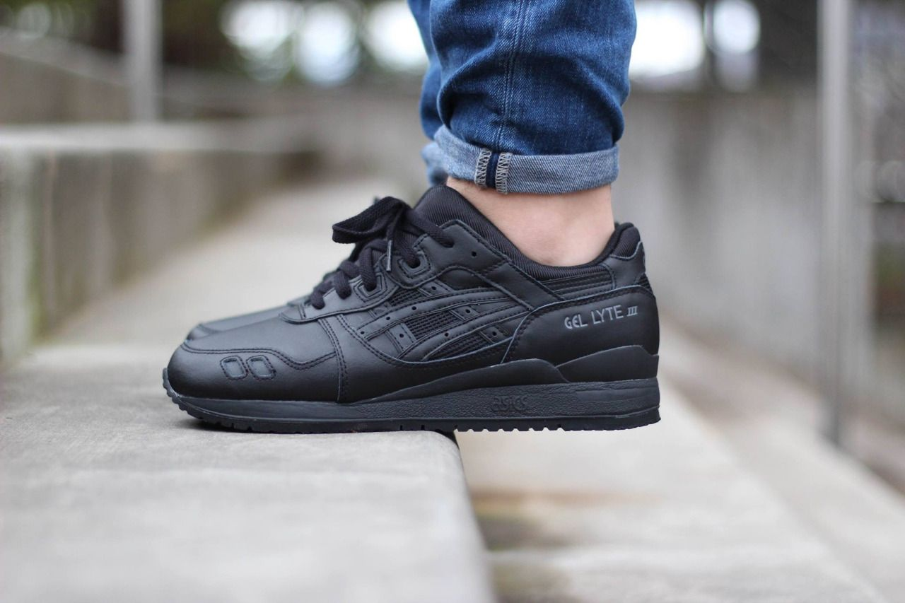 Asics Gel Lyte III Pure Pack Black