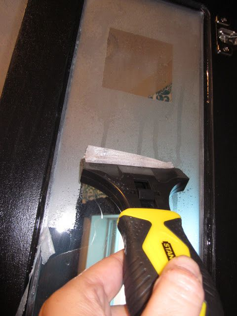 How To Remove Frosted Glass Spray Or Coating Frosted Glass Spray