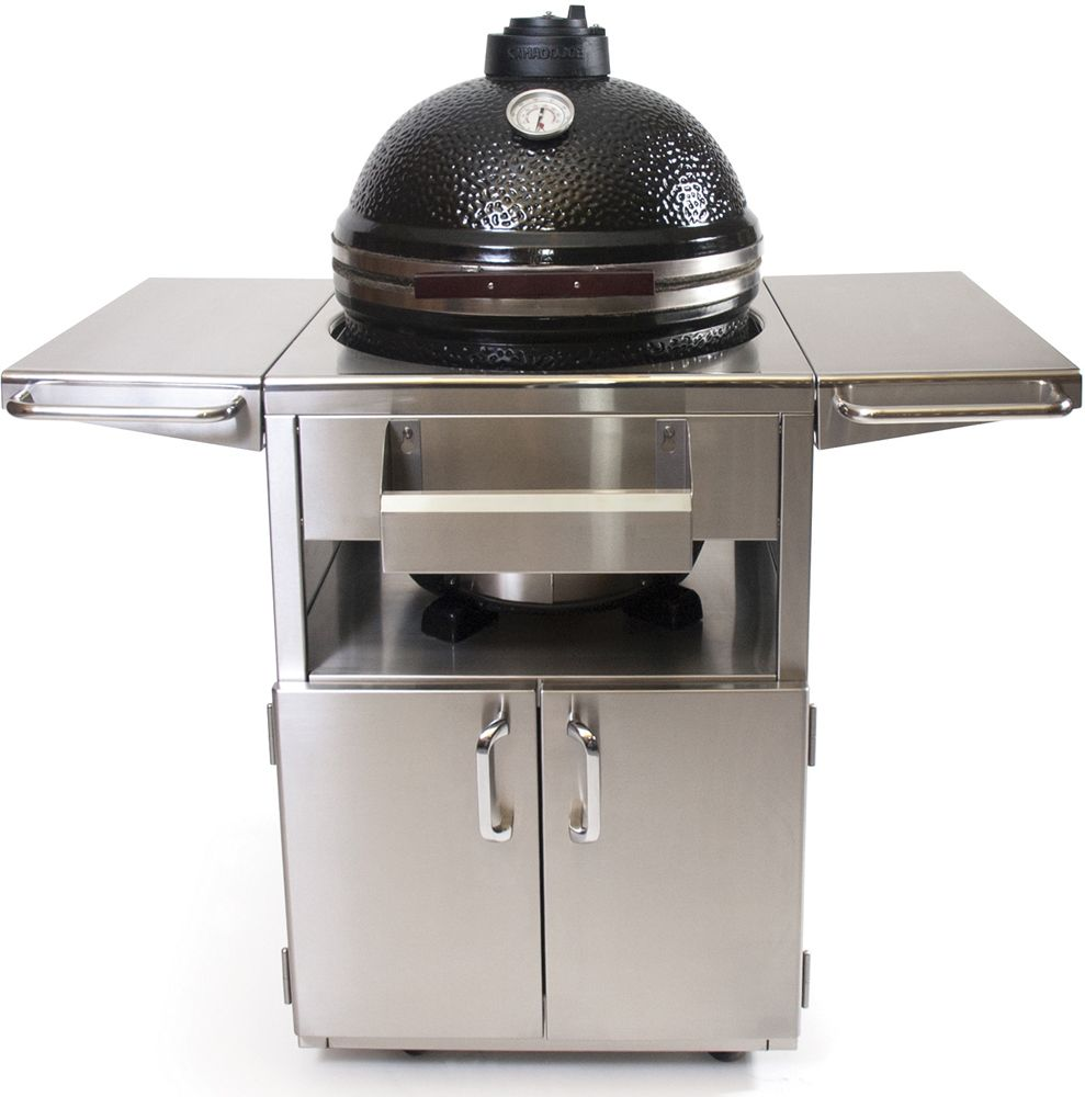 Kamado Joe Stainless Steel Grill Table For ClassicJoe