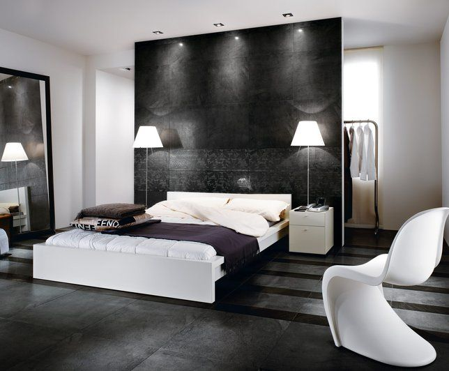 Awesome Chambre Blanche Et Noir Contemporary - Yourmentor.info ...