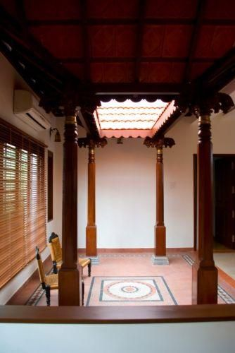 Traditional courtyard more indian home interior interiors decor design also  in rh pinterest
