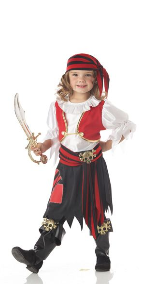 Girl Pirate Halloween Costumes | Toddler Costumes all  sc 1 st  Pinterest & Girl Pirate Halloween Costumes | Toddler Costumes all | Kids stuff ...