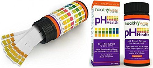 100 Count Exciting Modern pH Test Strips Laboratory Sensitive Accurate Evaluate Practical Wide Range pH45pH90 with Colors Chart ** More info could be found at the image url.