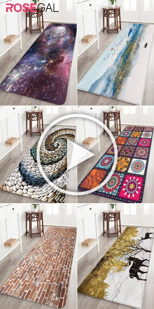 Rosegal Starry Sky Black Hole Printing Floor Rug 3D pattern print rug #Rosegal #rugs