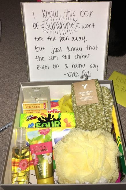 29+ Ideas Diy Gifts Box Ideas For Sister #giftsforsister