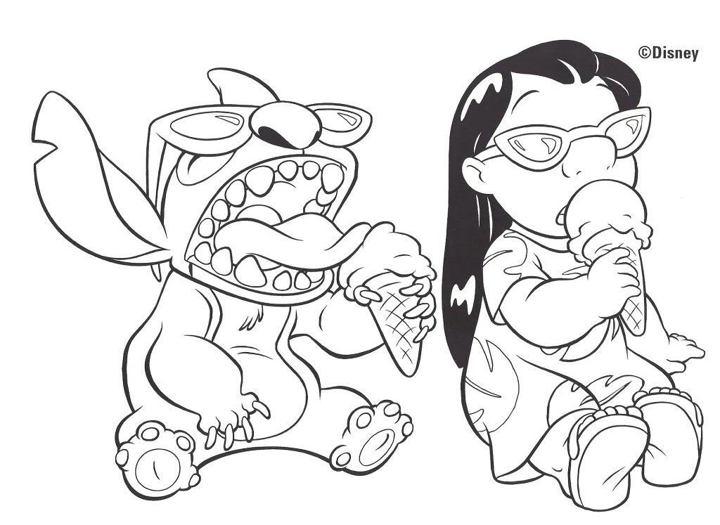 Dessin Lilo Et Stitch A Imprimer 24996 Lilo Et Stitch