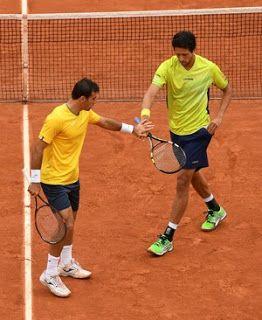 Blog Esportivo do Suíço: Campeões em 2015, Melo e Dodig caem nas semis em Roland Garros