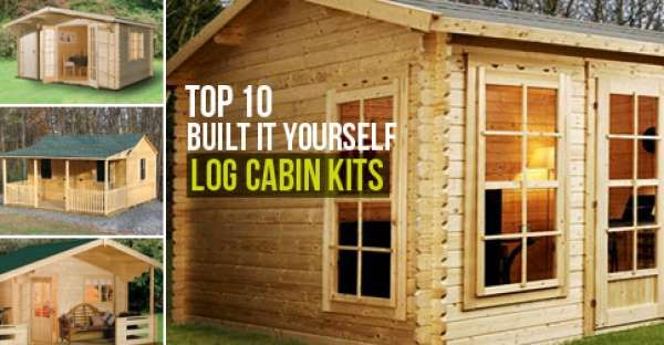 Top 10 built it yourself lob cabin kits log cabins pinterest so you think you want to build you log cabin yourself if you are that diy person and you have som solutioingenieria Image collections