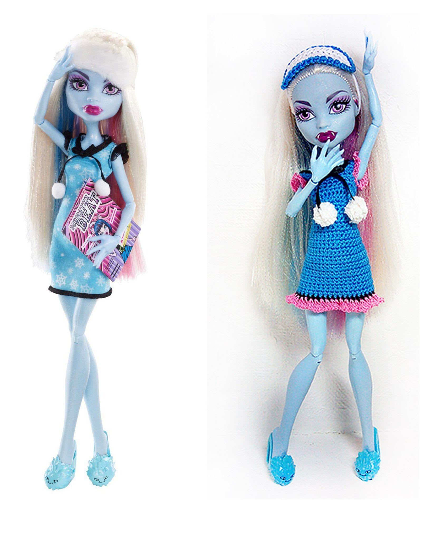Pin de Aleksandra Shcherbina en Crochet dresses for Monster High ...