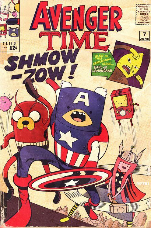 Adventure Time + The Avengers = Avenger Time