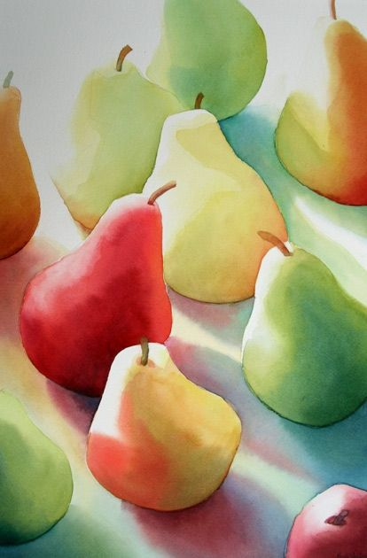"""""""Lightstruck Pears"""" by Rachel B. Collins, Alexandria VA"""