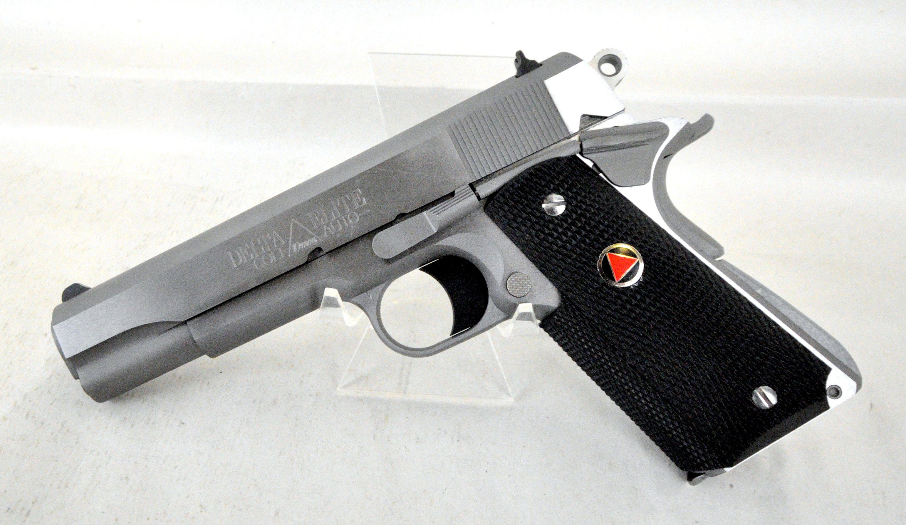 Colt Delta Elite MKIV O2020 1911 10mm. The Delta Elite MKIV from ...