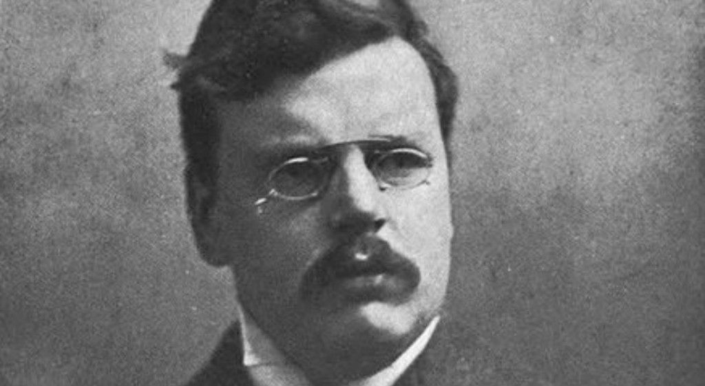 Whhen Chesterton went public with his Christian faith, and he did so by using the skeptical arguments as the very reasons he subscribed to Christianity
