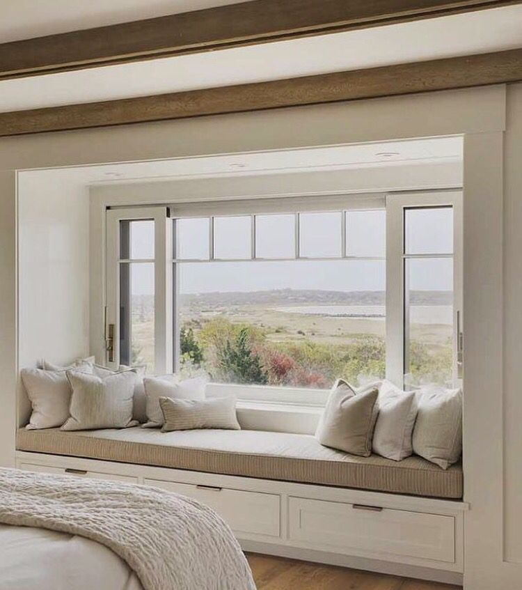 Bay Window Seat For A Lovely Addition: HOmE SWeEt HoMe... In 2019