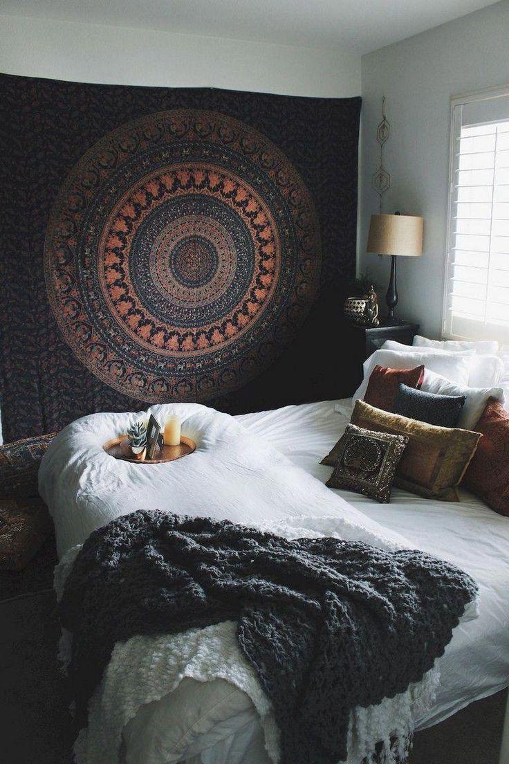 80 Comfy Elegance Chic Bohemian Bedroom Design Ideas # ... on Bohemian Bedroom Ideas On A Budget  id=40715