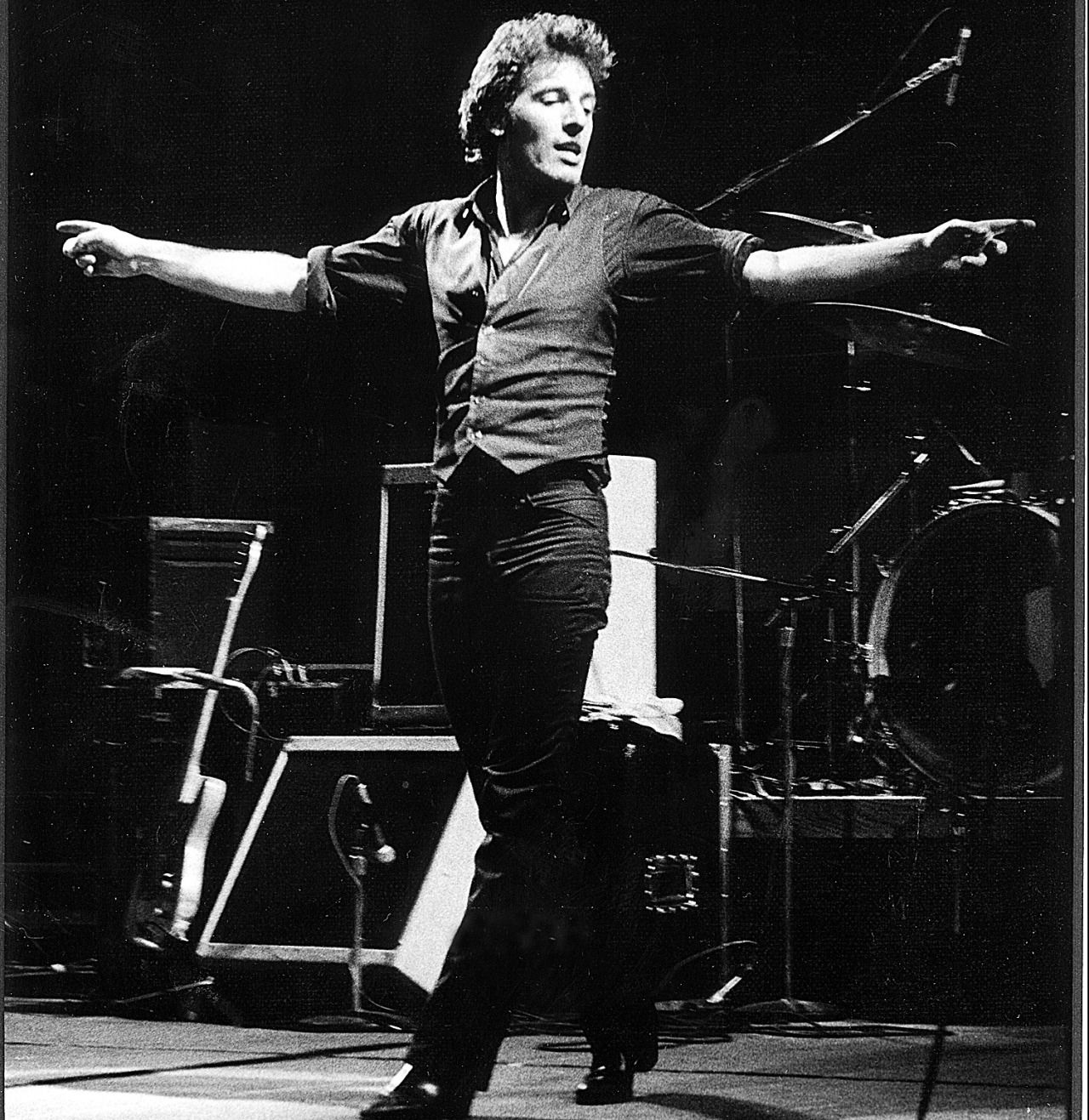 Springsteen kicking off the Darkness tour, 1978 in 2019