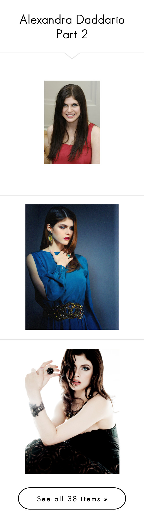 """""""Alexandra Daddario Part 2"""" by crazyaboutbooks1309 ❤ liked on Polyvore featuring alexandra daddario, people, girls, female models, models, actors, celebrities, accessories, tech accessories and women"""