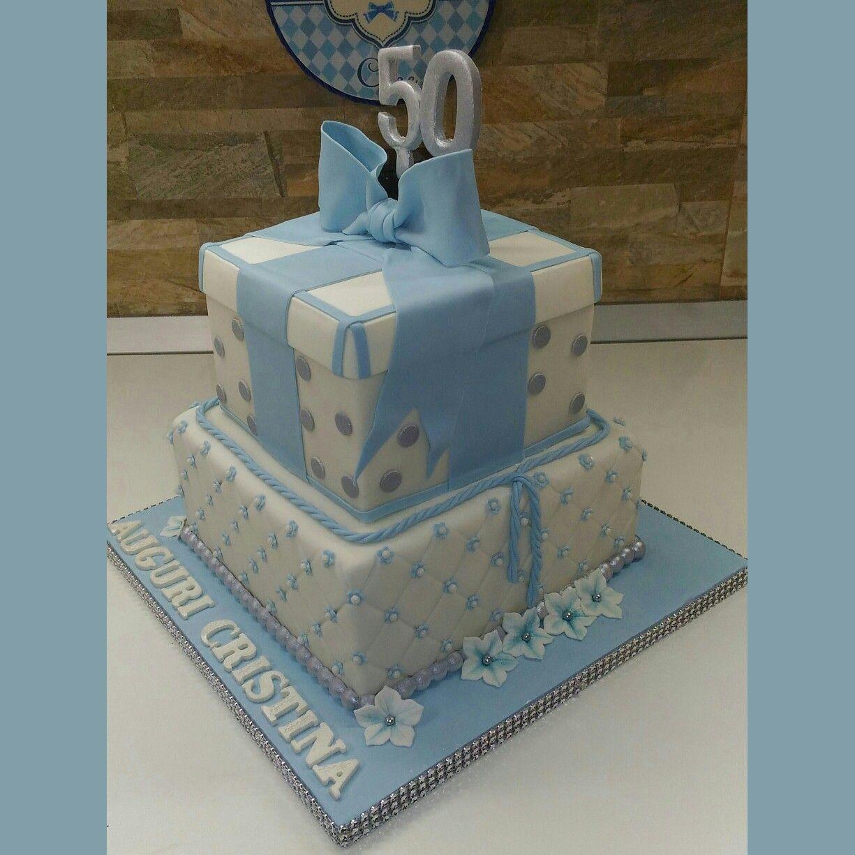 Torta Di Compleanno 50 Anni La Tortivendola Nuove Torte