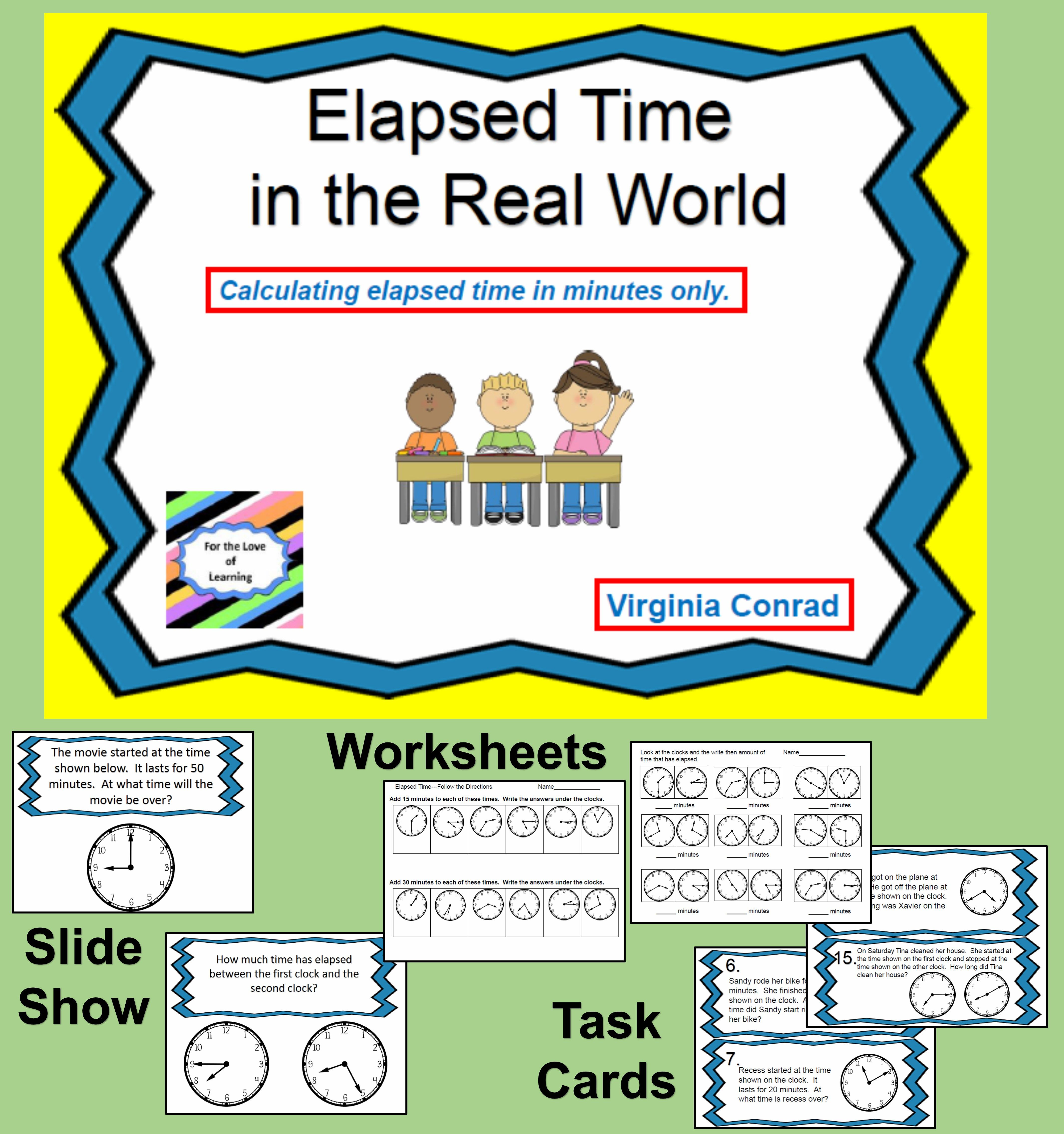 Elapsed Time Minutes Only