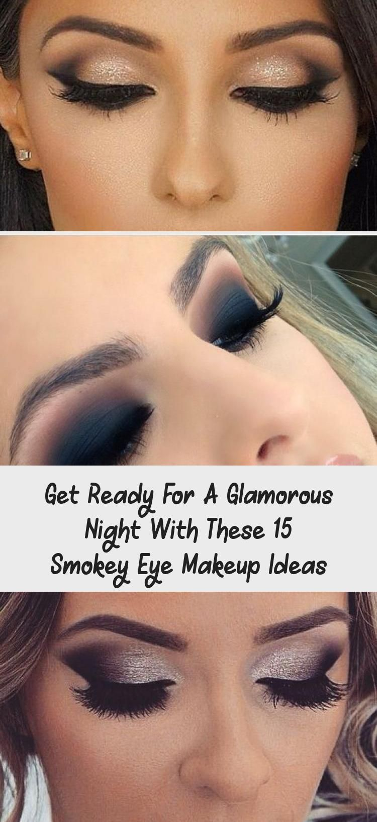 Get Ready For A Glamorous Night With These 15 Smokey Eye