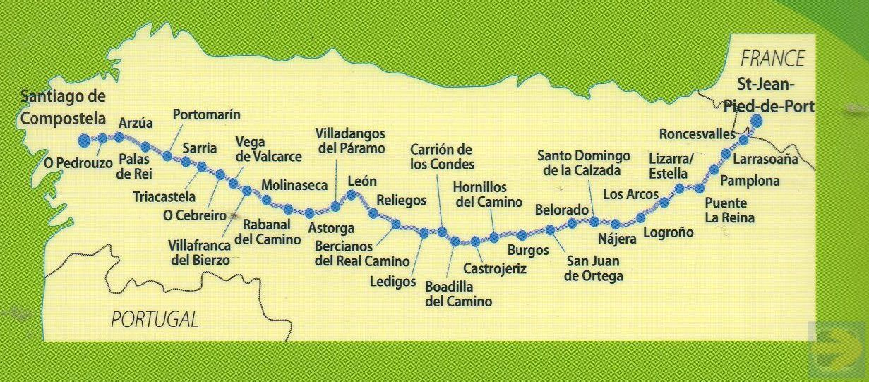 Camino Frances map | Camino de Santiago | France map, Paper ... on france country map, home map, france natural resources map, gibraltar map, pilgrimage map, food of france regions map, paris france landforms map, burgos map, pyrenees map, hospital map, ponferrada map, france airports map, west france map, spain map, samos map, santiago de compostela map, spanish-speaking country map,
