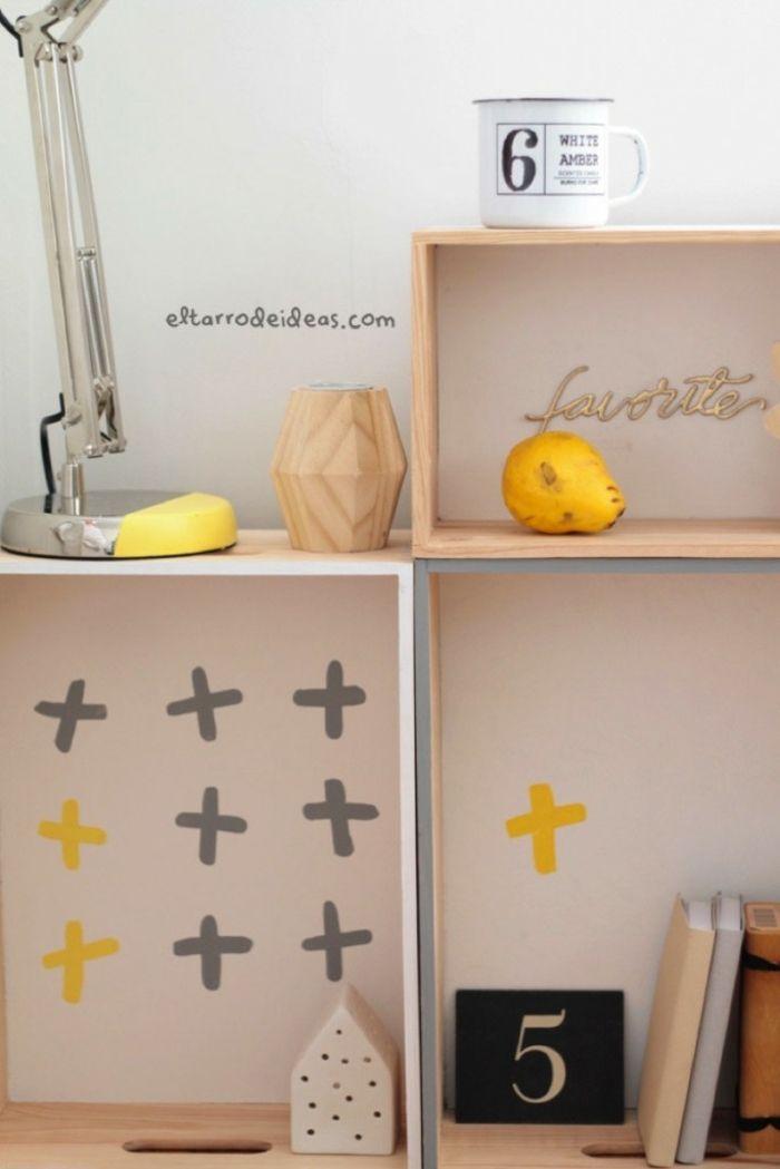 ▷ 1001 + idées déco avec une table de chevet originale - Peindre Table De Chevet