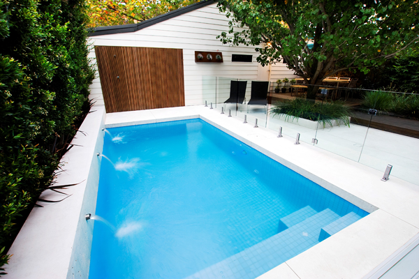 Neither Too Big Or Small Backyard Pool Ideal For Summer Parties Definitely Need A Cover For Our Indian Conditions Pool Steps Small Pools Backyard Pool Cost