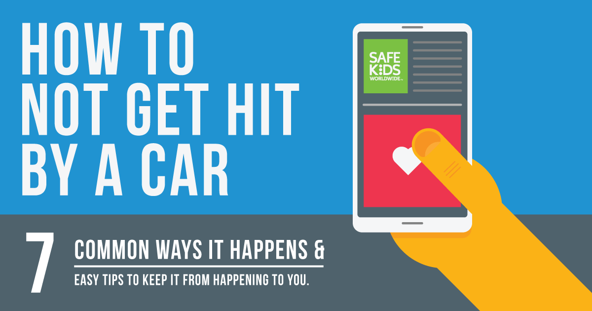 7 common ways children get hit by cars while walking. And ways to prevent it from happening.