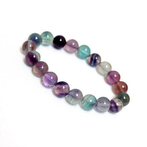 Wiser Joyas Pink Crystal Bracelet Beaded Bracelets Bracelets