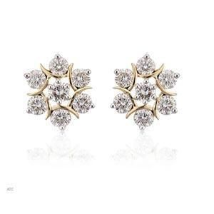 earrings earings jewellery set tension diamond brilliant classic rox