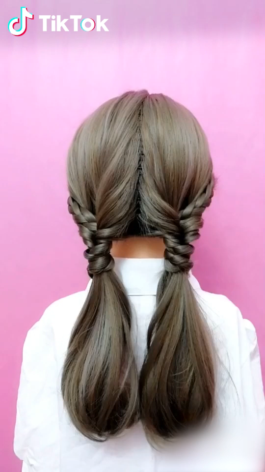 Tiktok Funny Short Videos Platform Super Easy To Try A New Hairstyle Download Tiktok Today To Find More Am In 2020 Hairstyle Long Hair Styles Short Hair Styles
