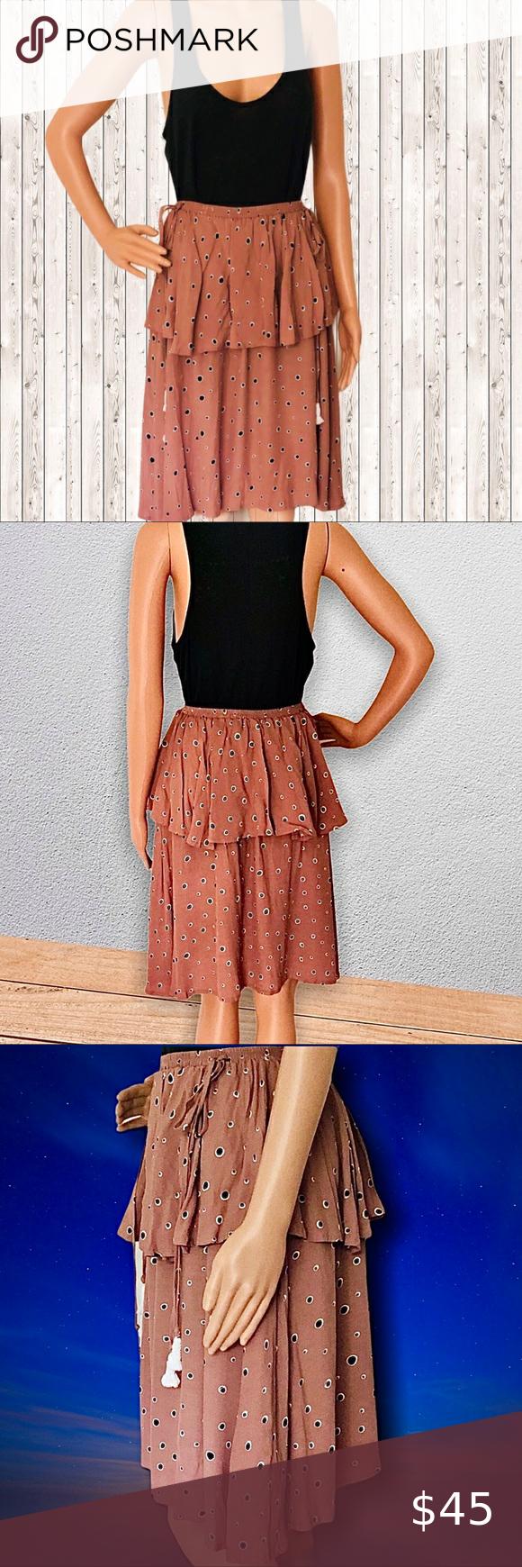 Sparkling Eagle Wrap Skirt